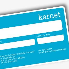 Karnet wakacyjny na korzystanie z pracowni Ceramiq