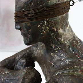 Rzeźba figuratywna z Rytisem Konstantinavicius